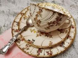 Sarreguemines fajansz teás csésze Louis XV