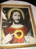 Szentkép üvegezett