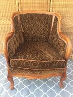 Neobarokk fotel, garnitúra része