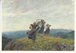 Képeslap / LUIGI ROSSI festménye /