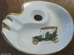 Franklin Car - 1906 - mintás porcelán hamutál