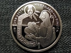 Németország 900 éve született Hildegard .925 ezüst 10 Márka 1998 F PP (id23109)