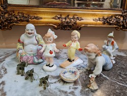 Hibás porcelán  tárgyak - licit  1ft ról