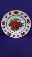 Antik Hollóháza keménycserép tányér 28 cm !!