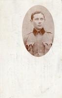 Katona, portré kép, 1916 Kommando der Stabskompagnie