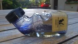 DIREKT NEM MOSTAM KI a PATINÁT !Régi Royal Blue EXTRA töltőtolltinta üvege , az 50-es- 60-as évekből