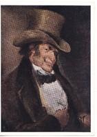 Képeslap / FRANCISCO JOSE DE GOYA festménye /