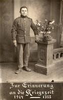Katonakép az 1914-1915 közötti háborús időszak emlékére