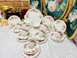 Royal Albert Lavender Rose teás-reggeliző készlet