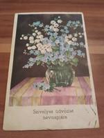 Antik képeslap, 1940