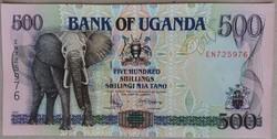 Uganda 500 Shillings UNC 1997