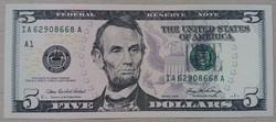 USA 5 dollár 2006 UNC