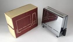 1E936 Makulátlan Hageka fém kenyérpirító dobozában