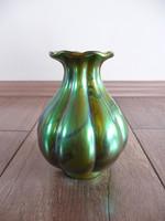 Antik Zsolnay eozin mázas váza