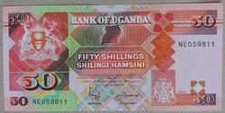 Uganda 50 Shillings UNC 1998