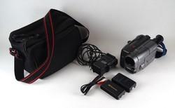 1E942 Sony CCD-TRV30E kamera tartozékokkal
