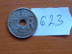 DÁNIA 10 ŐRE 1946 N-GJ King Christian X, 75% réz, 25% nikkel 460.000 DB #623