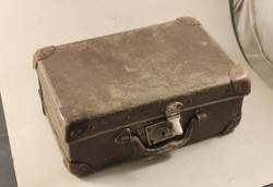 Antik retro gyerek bőrönd 761