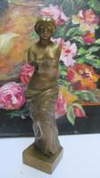 Milói Vénusz szobor-13 cm magas 49 dkg - rézötvözet