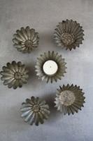 Régi cukrász sütis formák-dekoratív célra, 6db