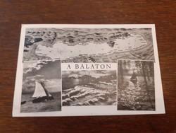 Régi képeslap 1942 a Balaton levelezőlap