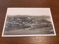 Régi képeslap 1942 Tihany látképe levelezőlap