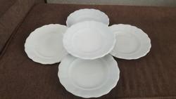 Antik barokk mintás zsolnay tányérok