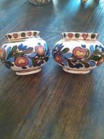 Antik Csenki J. kerámis Hmv.  váza