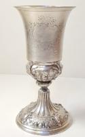 Csodás antik ezüst kehely az 1800-as évekből