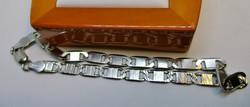 Szép hibátlan  ezüst karkötő
