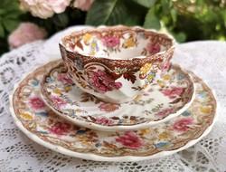 Copeland fajansz teás csésze és tányér