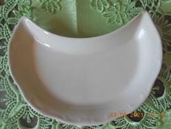 Zsolnay barokk csontos tányér