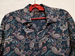 L-es indiai pamut férfi ing