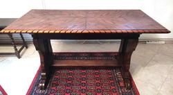 Antik koloniál diplomata íróasztal