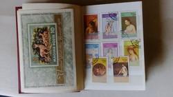 Bélyeg album! Tele bélyeggel!