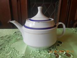 Zsolnay Török János tervezte tea kiöntő, ritka