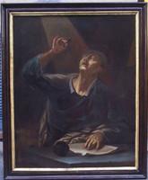 17. századi Szent Lukács evangélista portréja