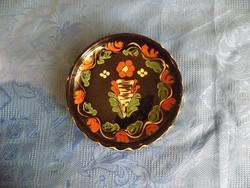 Sárospataki kerámia falitányér 18 cm (n)