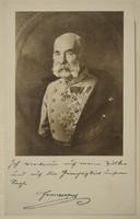 Régi képeslap I. Ferenc József
