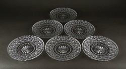 1F100 Hat darabos ólomkristály tányér készlet