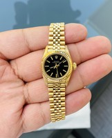 Eredeti Rolex Női 18 Karátos Arany Karóra  !