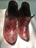 TÁLTOSCIPŐ NŐI 37-es bőr cipő dettamintával, csúszásmentes gumiráttéttel, párnázott fedőtalpbéléssel