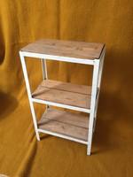 Ipari loft design kisasztal, lerakó, virágtartó!