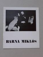 Barna Miklós - katalógus