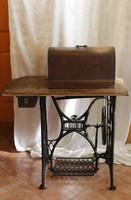 Gritzner varrógép csodaszép lábbal működő varrógéppel