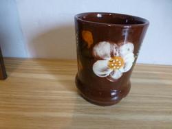 Sárospataki,mázas,kerámia váza