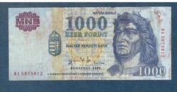 2002 1000 Forint DA sorozat
