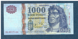 2006 1000 Forint DA sorozat EF