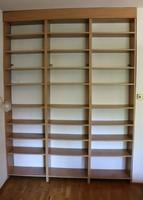 Nagy méretű gyönyörű könyvespolc 198 x 266 cm  17.kerület