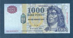 2003 1000 Forint DB sorozat EF